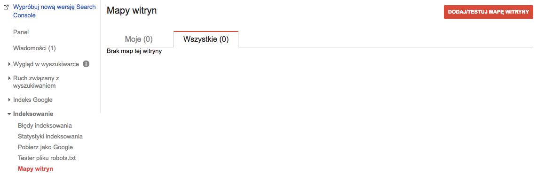 Jak dodać mapę witryny (site map) do Google Search Console
