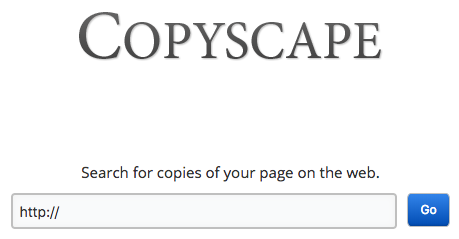 Jak sprawdzić czy treści na stronie nie zostały skopiowane (duplicate content) - Copyscape